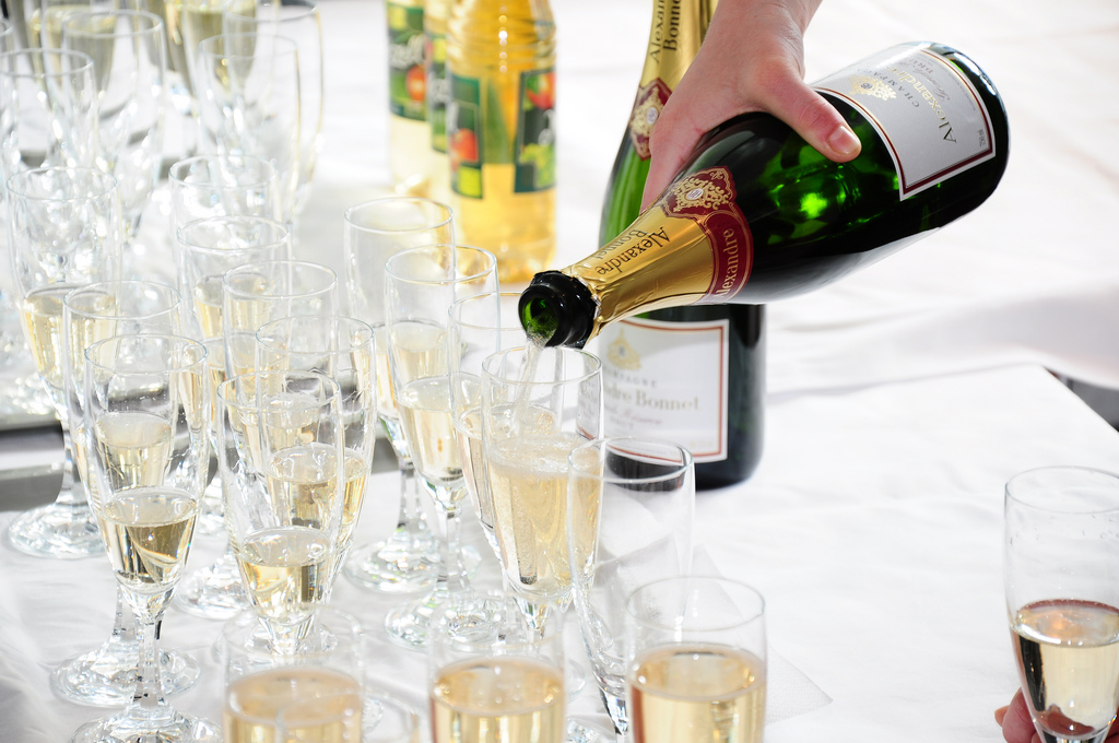 Champagne New Years Eve