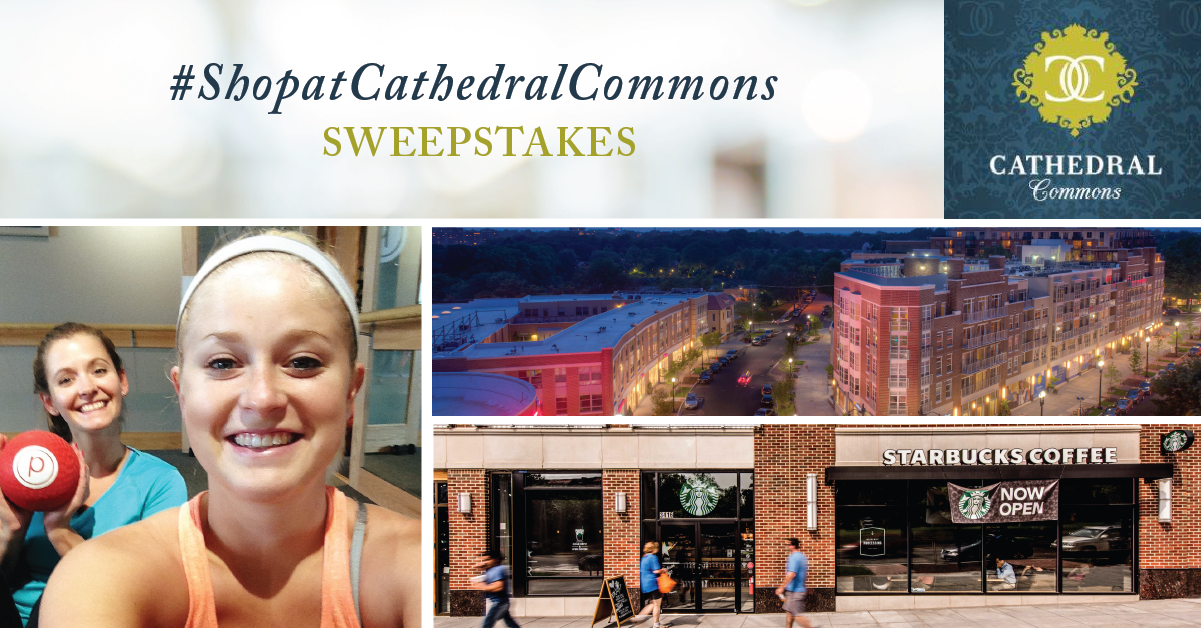 Share Your Selfie and You Could Win Our #ShopatCathedralCommons Sweepstakes!