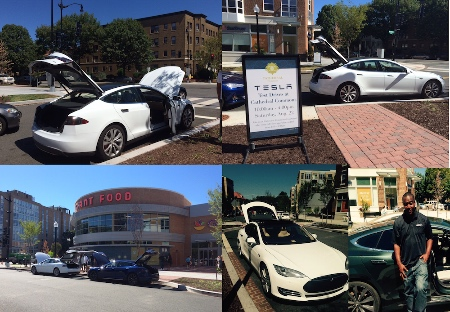 Did You Test Drive a Tesla at Cathedral Commons?