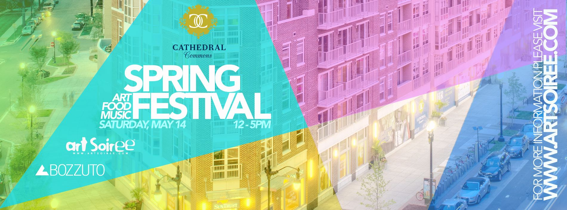 Spring Festival in Bloom at Cathedral Commons