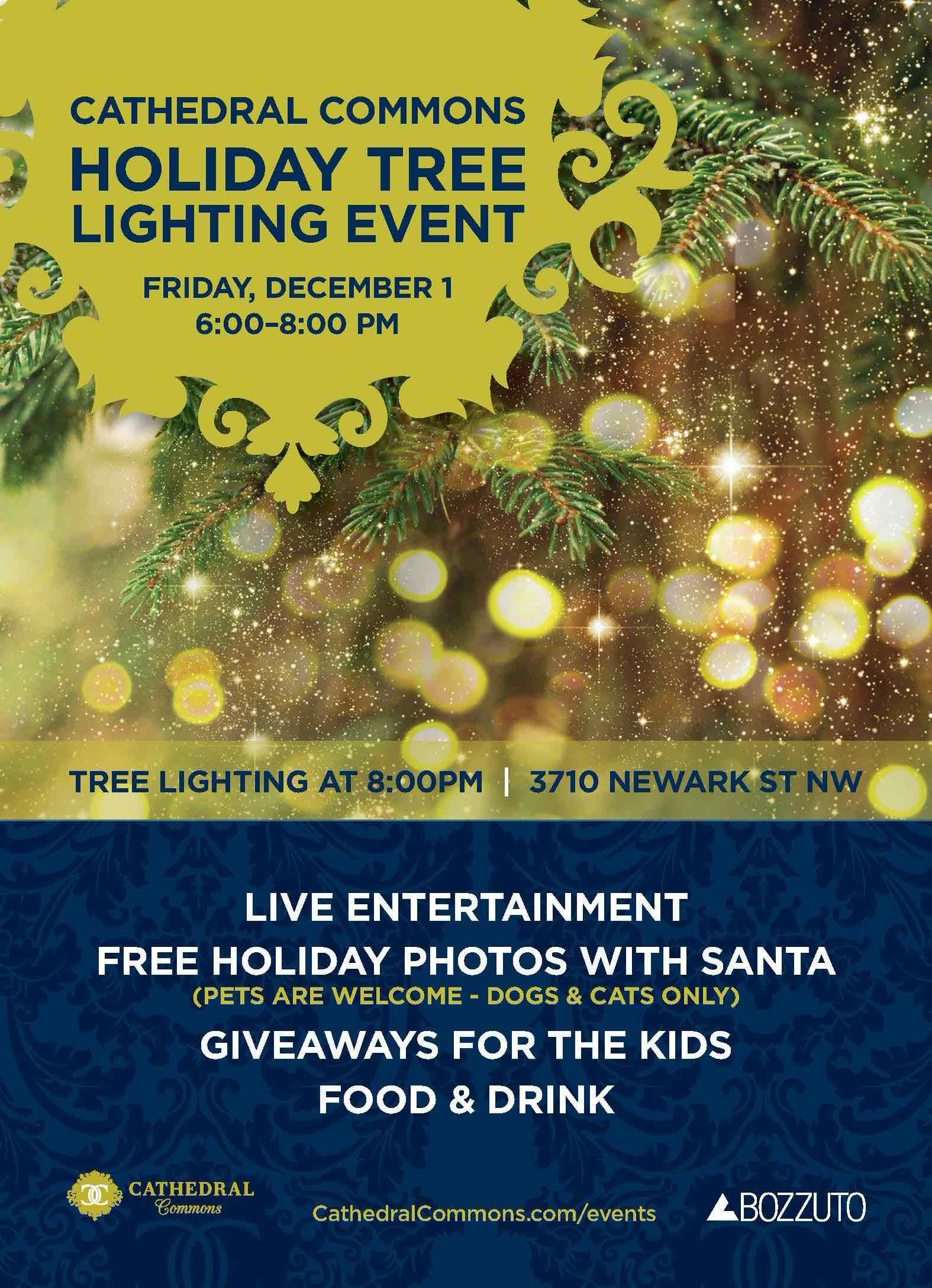 Celebrate the Season at The Cathedral Commons Tree Lighting